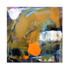Origine huile abstraite peinture sur toile par CristinaBStudio