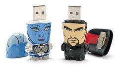 #MassEffect flash drives. #Gamer #Mimobot