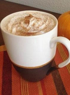 """Here's a luscious Spiced Pumpkin Latte that's easy on your waistline – and your wallet! This seasonal drink, created originally by Starbuck's (with 2oo million sold over the last decade), only gets more popular every year. Unfortunately, those 2 million drinks have also served up 60 billion calories (yep, that billion with a """"B""""). This …"""