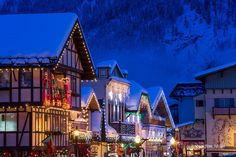 LEAVENWORTH, WASHINGTON...favorite place to play in winter
