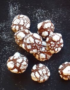Les receptes que m'agraden: Galetes crinkles de xocolata i café - Galletas…