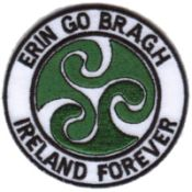 Celtic Emblem http://paddywhackery.ie/products-page/embroidered-patches/erin-go-bragh-embroidered-patch/