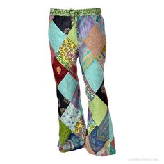 Funky Mama Patchwork  Pants