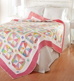 A perfect quilt for Springtime! Merry-go-Round Quilt on All People Quilt