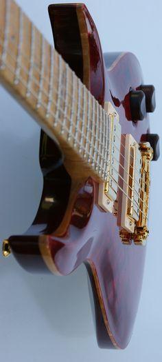 Handmade prestigious guitar.