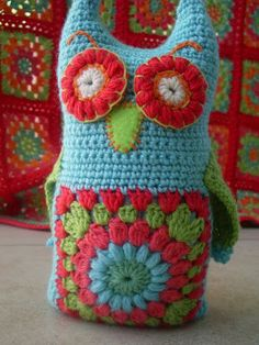 little woollie: Little owl softie....