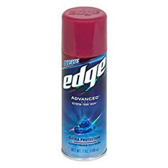 Edge Advanced Shaving Gel, Extra Skin Protection, 7 oz >>> Details can be found by clicking on the image. (This is an affiliate link) Best Beard Care Products, Shaving Blades, Ingrown Hair Removal, Extra Skin, Ozone Layer, Razor Burns, Shaving Oil, Shave Gel, After Shave