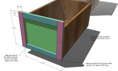 File Base for the Classic Storage Wall System Desk