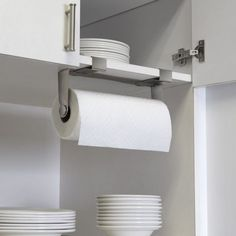Great Bathroom. Ingenious Under Cabi Paper Towel Holder Chrome Mainstays Under  Intended For Paper Towel Holder