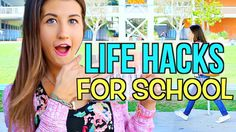 DIY Life Hacks For School You NEED To Know! | MayBaby