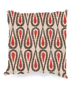 Lucini Pillow in Lipstick design by Baxter Designs