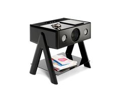 Coffee table with built-in speakers CUBE THRUSTER® - La Boite Concept