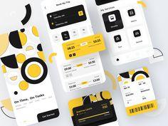 Public Transportation APP by Danni Li for UG Lab on Dribbble Mobile Application, App Development, Public Transport, App Design, My Books, Transportation, Ios, Application Design