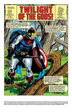 Marvel Comics of the 1980s: The Mighty Avengers - My 10 Favourite Splash Pages...