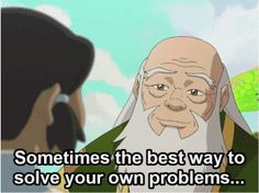 Avatar: The Last Airbender / The Legend of Korra Awesome quote from Uncle Iroh:) Avatar Airbender, Avatar Aang, Team Avatar, Iroh Quotes, Avatar Quotes, Geeks, Sneak Attack, Avatar Series, Fire Nation