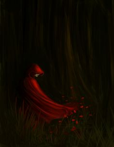 Little Red Riding Hood by Indigotip.deviantart.com on @deviantART