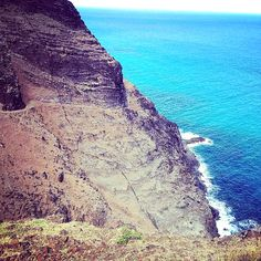 Crawler's Ledge, Kalalau Trail, Kauai.