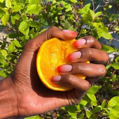 "PAM | 6'0'' Tall Blogger on Instagram: ""🍊🍊🍊☀️#manimonday  Nail artist 💅 @doinanogailic.nailsalon  #nailtrends2020 #freshmanicure #manicureoftheday #frenchmanicure #naildesigns…"" Nail Trends, Nail Artist, Nails Inspiration, Fun Nails, Manicure, Nail Designs, Instagram, Nail Bar, Nails"