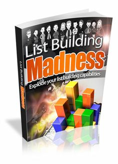 List Building Madness eBook for sale! $1.99 only! Explode your list building capabilities. http://payhip.com/b/cCJd