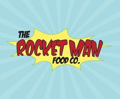 The Rocketman - Logo Design Logo Design, Graphic Design, Man Food, Portfolio Design, Portfolio Design Layouts