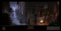Fernando Acosta is an artist who has done work for companies like WB Games, Square Enix and Hasbro. One of his more recent projects, though, was the just-released Assassin's Creed Syndicate.