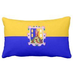 Flag Of San Luis Potosi (Mexico) Throw Pillows