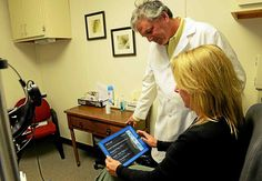 Mid-Hudson ophthalmologist develops iPad app to help patients with retinal diseases read again