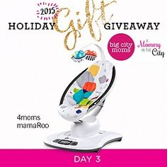 Holiday Gift Giveaway: Day 3 4moms mamaRoo