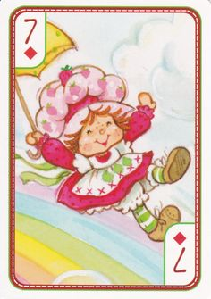 SSC Playing Cards - Best Deck - 19 Strawberry Shortcake Pictures, Strawberry Shortcake Characters, Vintage Strawberry Shortcake, Cute Little Girls, Cute Kids, Huckleberry Pie, My Melody Wallpaper, Cool Deck, Rainbow Brite