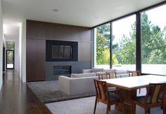 Hillsborough II - modern - family room - san francisco - MAK Studio