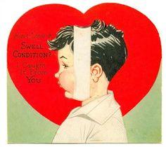 scary vintage valentine images bats   ... labels creepy vintage valentines ephemera racist valentines suicidal