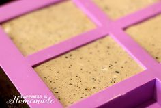 Coffee & Milk Exfoliating Soap - Happiness is Homemade Handmade Soap Recipes, Handmade Soaps, Coffee Soap, Coffee Milk, Happiness Is Homemade, Homemade Body Care, Homemade Beauty, Soap Melt And Pour, Coconut Soap