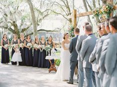 Vintage + Rustic Wedding at Up the Creek Farms Melbourne, Florida - Kati Rosado Photography: Fine Art Wedding Photography Blog | Outdoor Ceremony