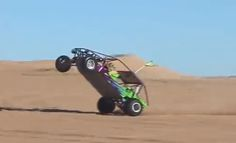Incredible! Watch A Little Kid Do A Monster Wheelie In A Sand Rail At Glamis! Click the link to watch this #wtf video