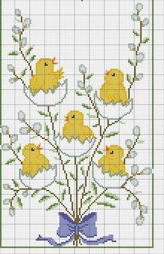 Cross Stitch Bird, Cross Stitch Animals, Counted Cross Stitch Patterns, Cross Stitch Charts, Cross Stitch Designs, Cross Stitch Embroidery, Embroidery Patterns, Hand Embroidery, Cross Stitch Christmas Ornaments