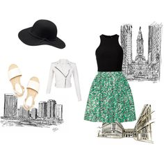traveling by magicandpeanut on Polyvore featuring T By Alexander Wang, IRO and Miu Miu