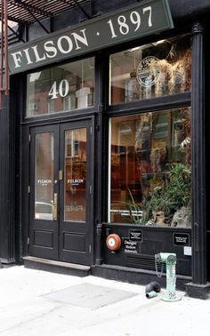 Filson at 40 Great Jones Street in New York City.