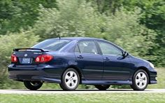 2006 Toyota Corolla S. Mine was black. This was a fun car...a great ride.
