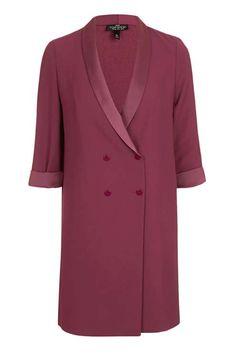 PETITE Long Line Blazer Dress