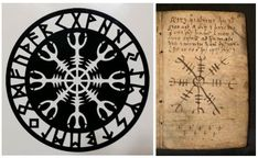 The Helm of Awe is a powerful protective symbol used by the Vikings for the purpose of protection from illness, and disease. In Norse mythology it is said that it is a symbol that was worn between the eyes that induces fear in your enemies, and to protect against the abuse of power.
