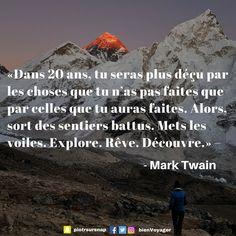 #citation #inspiration #voyage Retrouvez-les sur ma page → https://www.facebook.com/bienvoyager.blog/