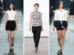 Modelos en la pasarela. New York Fashion Week