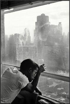 theniftyfifties:  Sammy Davis JrinNew York City, 1959. Photo by Burt Glinn.