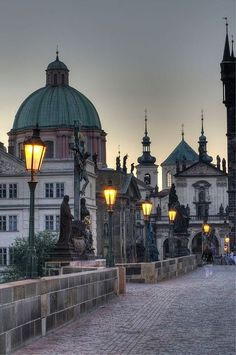 Travel Inspiration for the Czech Republic - Eastern Europe, Charles Bridge, Prague, Czech Republic - I love this beautiful bridge, lucky enough to have been across it.