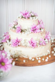 Happy Birthday Little Sweetheart Naked Cake