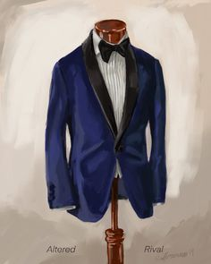 Completed menswear fashion illustrations by artist Sunflowerman. All illustrations are done by hand, mostly with watercolor and ink. outfits hipster outfits Work outfits casual outfits with boots outfits swag Blue Suit Men, Fashion Illustration Sketches, Men's Fashion Brands, Outdoor Fashion, Fashion Design Drawings, Tuxedo For Men, Fashion Portfolio, Vintage Style Dresses, Designs To Draw