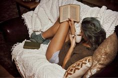 Spend the holidays curled up in comfy clothes and reading that book you've been meaning to dive into.
