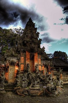 Temple in Bali - Indonesia