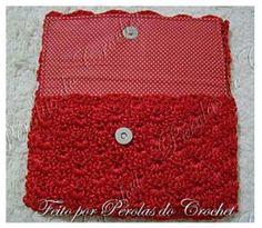 Receita Carteira em Crochê – Linha Encanto Círculo – Blog do Bazar Horizonte – Maior Armarinho Virtual do Brasil