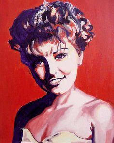 I really miss painting portraits. Years ago they were my bread & butter. 'Laura Palmer'- Purchased into the Estate of Sheryl Lee a gift from her brother to the actress. Over time I have painted a few hundred portraits. This one is from back in the days of Twin Peaks.